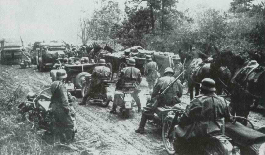 Opération barbarossa : 22 juin 1941 : attaque allemande en urss et
