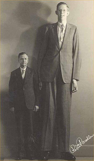 En ces temps là il y avait des géant sur la terre! Robert-wadlow