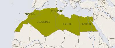 Carte De Lafrique Maghreb.L Afrique Du Nord Le Blog De Lislam Ma Vie Over Blog Com